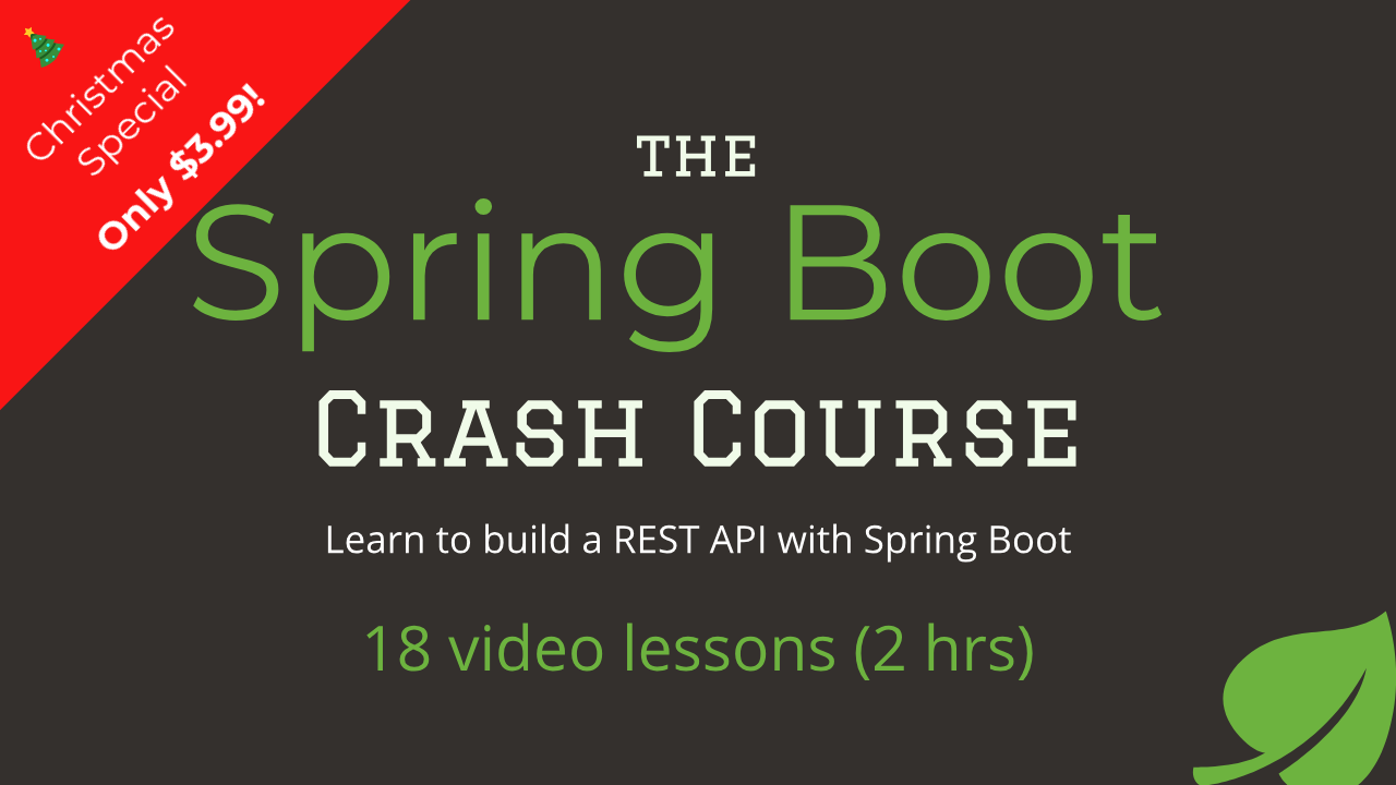 Spring Boot Course